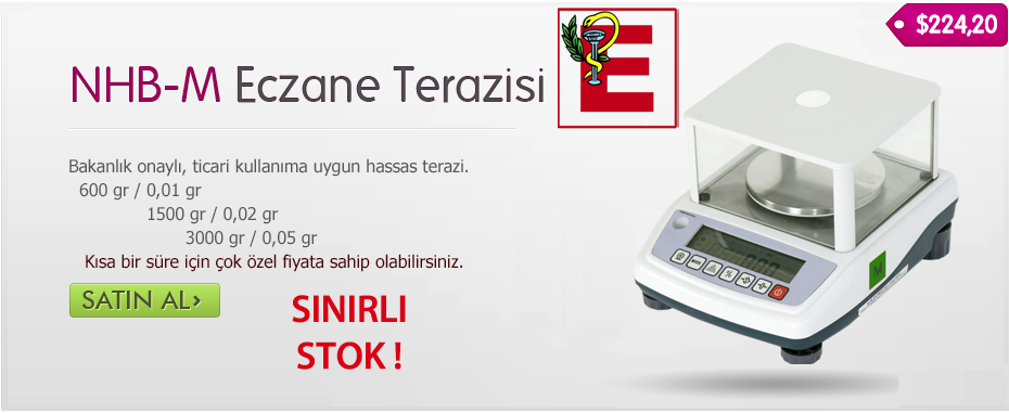 Dikomsan HT-NA 600 Onaylı Eczane / Kuyumcu Terazisi