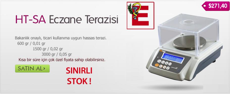 Dikomsan HT-SA 600 Onaylı Eczane / Kuyumcu Terazisi